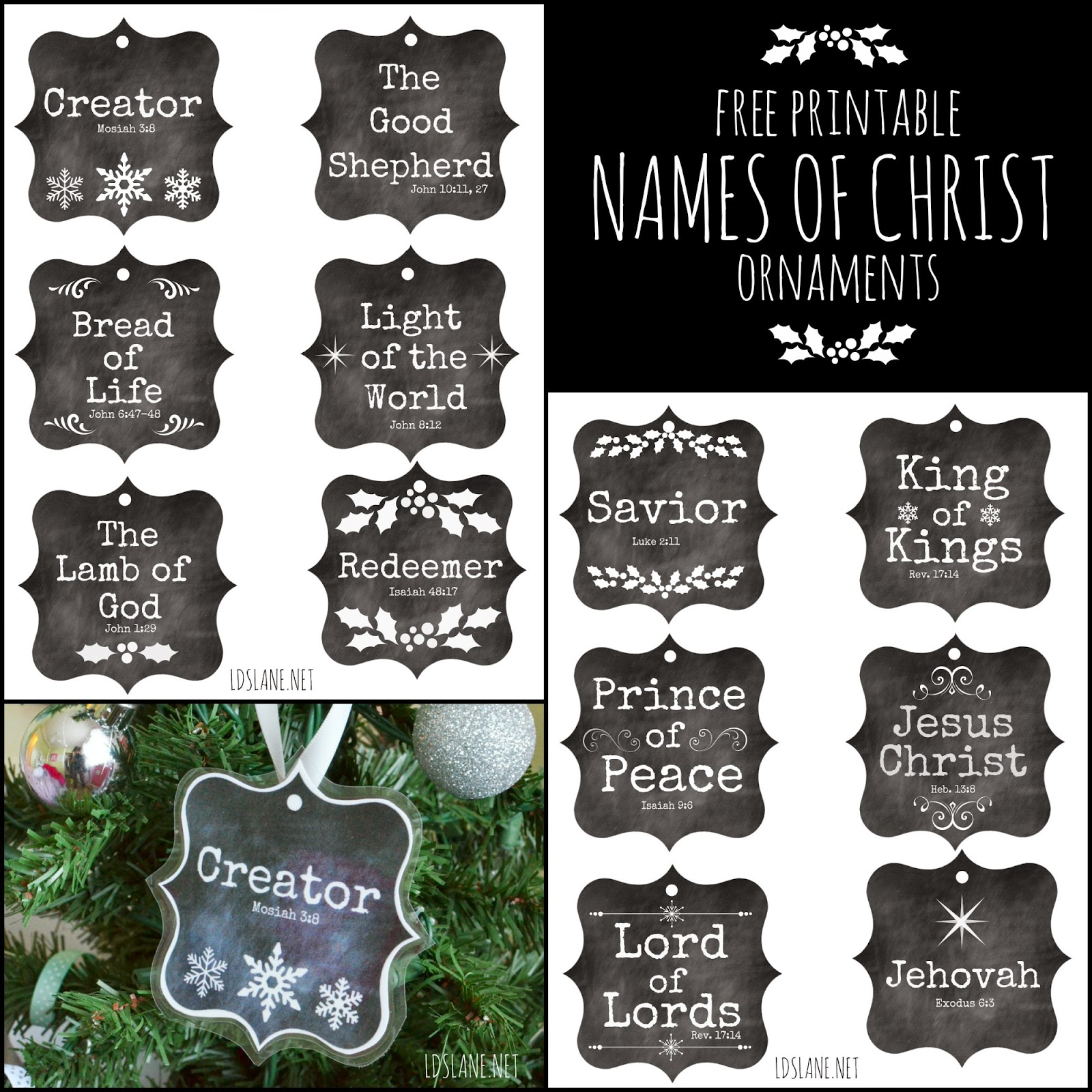 Jesus Ornaments Jesus Ornament Designs: Free Printable Ornaments