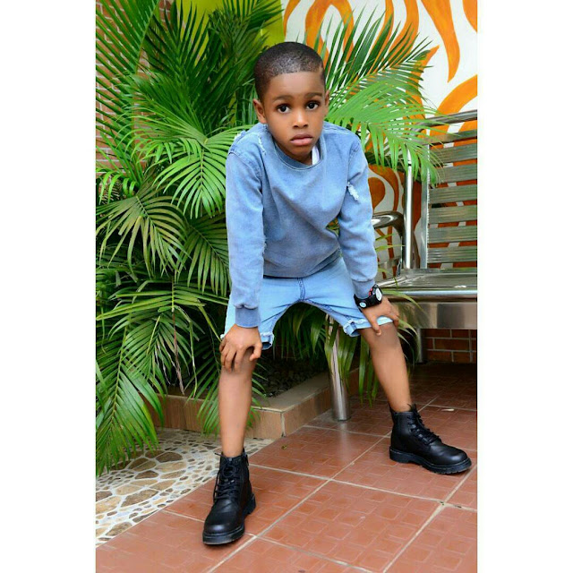 Actress Angela Okorie's Son Celebrates His 6th Birthday With Cute Photoshoot4