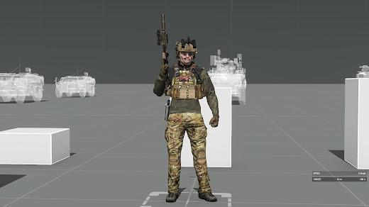 いろんな装備を追加していくArma 3のUnderSiege Gear & Uniforms MOD