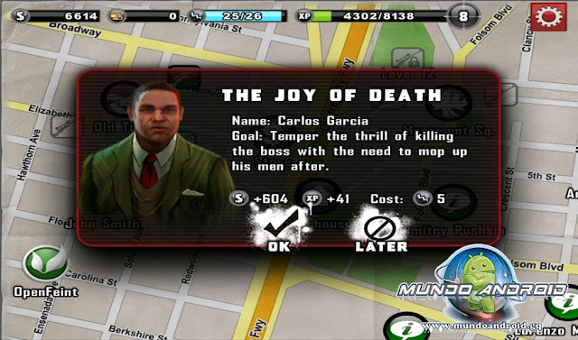 Jugabilidad de Contract Killer