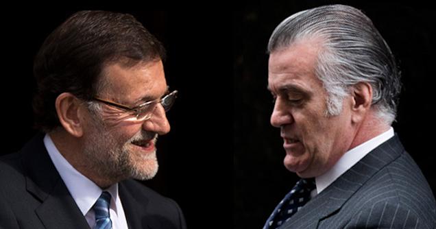 Rajoy y Bárcenas