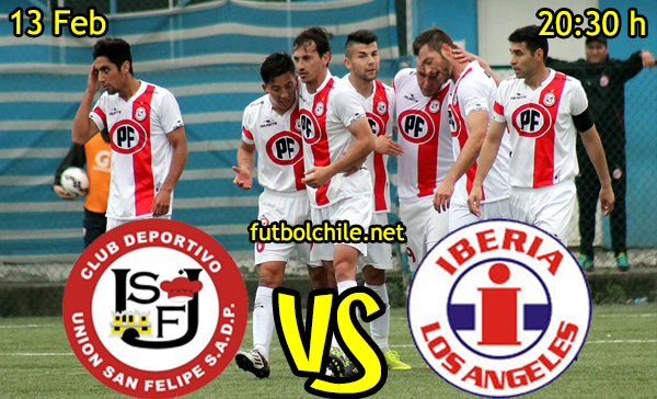 Ver stream hd youtube facebook movil android ios iphone table ipad windows mac linux resultado en vivo, online: Union San Felipe vs Deportes Iberia
