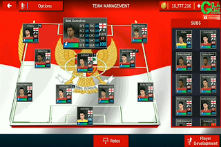 Download DLS 2020 MOD TIMNAS INDONESIA Gilagame Apk Data Obb for Android