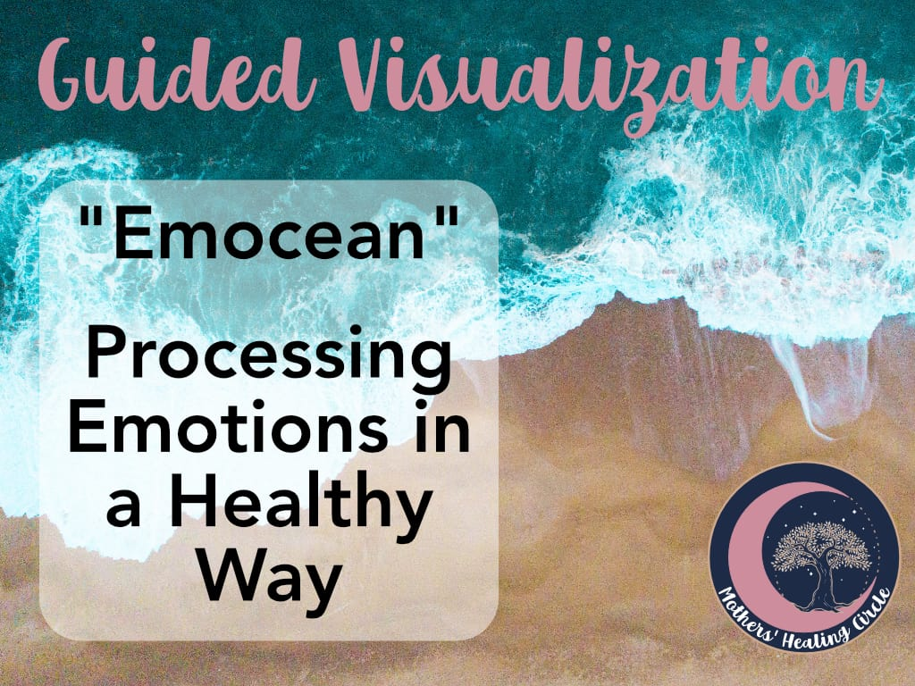 Guided Visualization, Intuitive Energy Work EFT tapping Mindset Coach for Pregnancy, Birth, Motherhood, Postpartum, Processing emotions