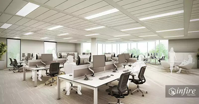 Spacious office, Commercial Space For Rent