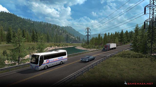 American Truck Simulator Washington Gameplay Screenshot 4