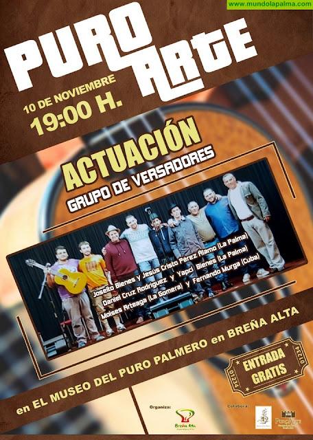 Puro Arte traerá, este sábado, a Breña Alta un nuevo espectáculo de versadores de La Palma, Canarias y Cuba