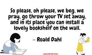 fun reading quotes by roald dahl