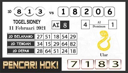 Prediksi Pencari Hoki Sdy Kamis 11-Feb-2021