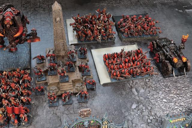 war in miniature Infernal Dwarves 9th Age