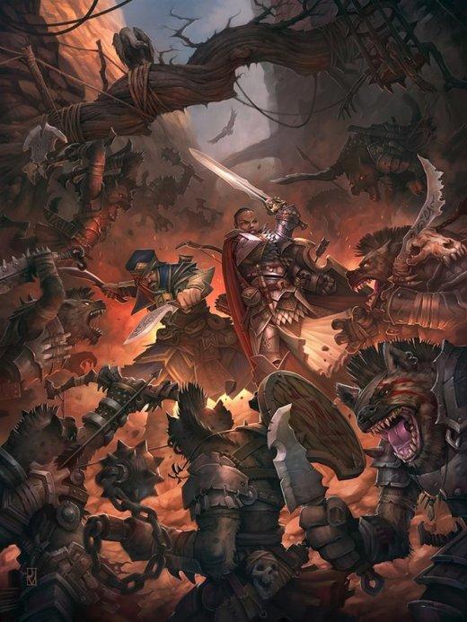 Jaime Martinez artstation arte ilustrações fantasia ficção games