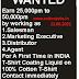TUESDAY(22.06.2021) GARMENTS RELATED JOBS WANTED LIST OUT (TIRUPUR JOBS, ERODE JOBS)