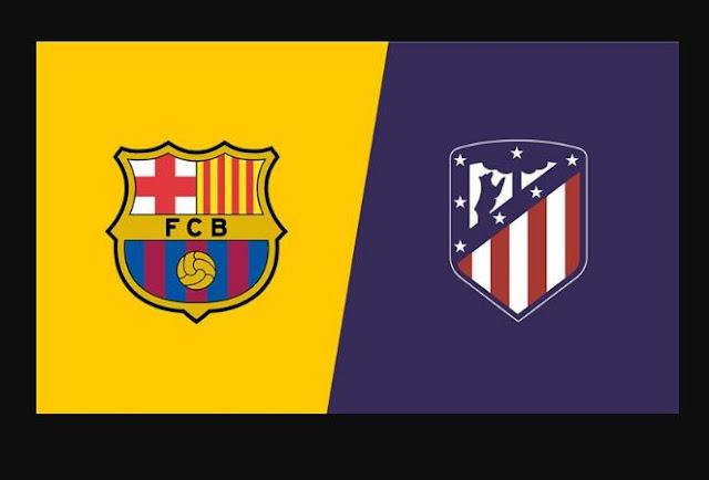 برشلونة واتليتكو مدريد بث مباشر