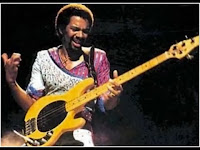 Louis Johnson isolated bass image
