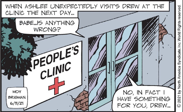 The People's Clinic looks like Ashlee's kind of medical hovel.