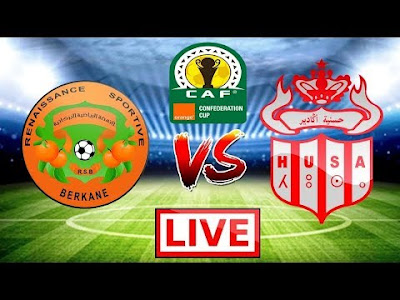 مشاهدة مباراة نهضة بركان وحسنية أكادير بث مباشر اليوم 6-10-2019 في الدوري المغربي