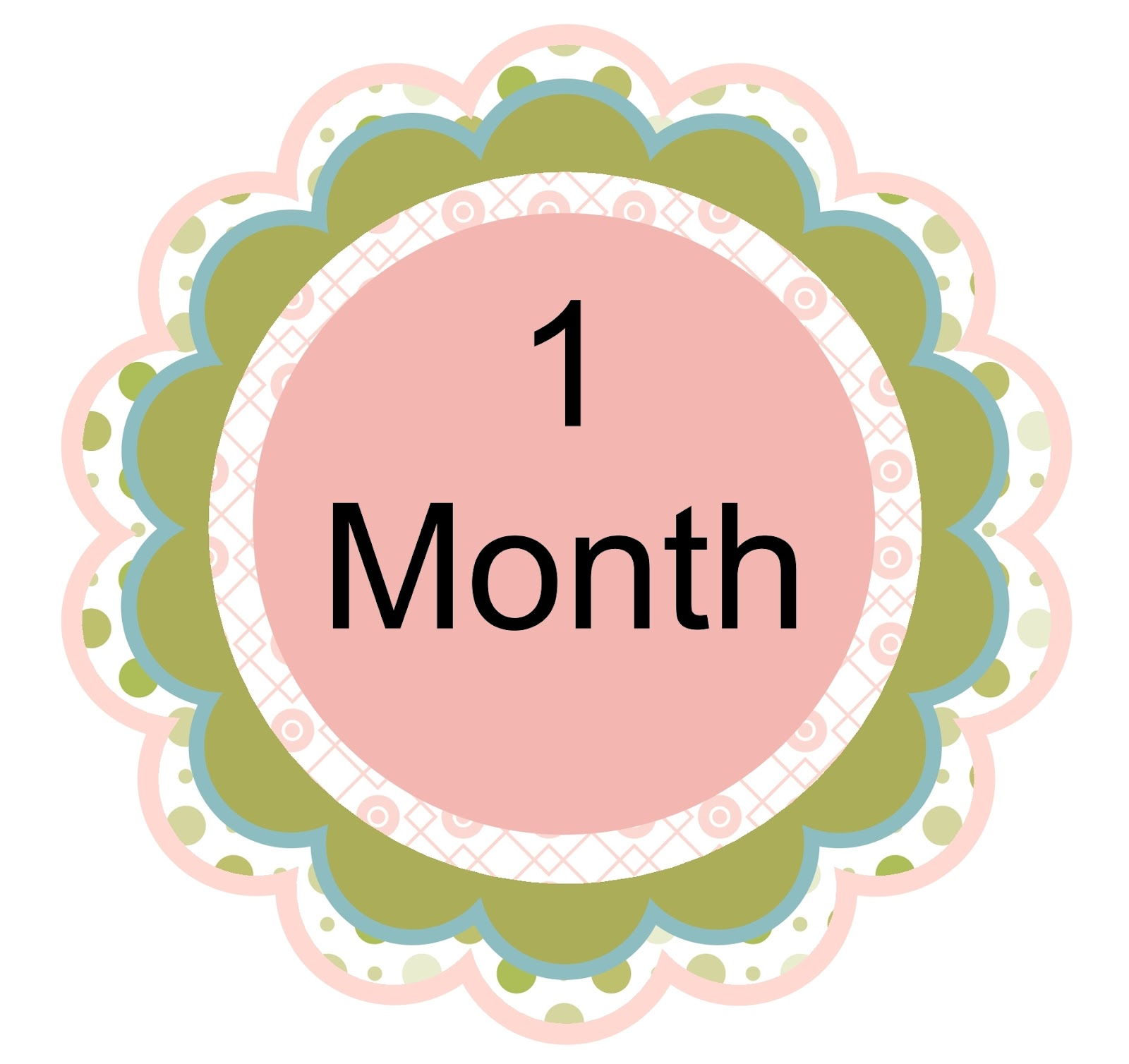 Happy 1 Month Old Baby Girl Quotes: Alise's Random Thoughts: MDS