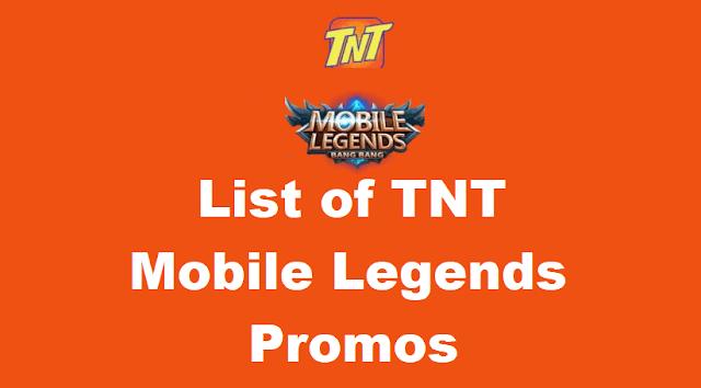 TNT Mobile Legends Promos