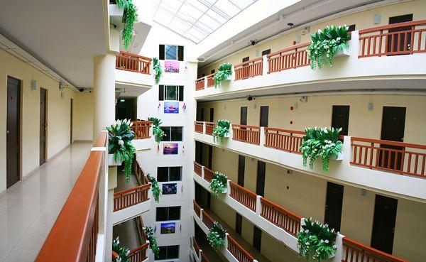 อพาร์ทเม้นท์ เค.วี.แมนชั่น kvmansion ห้องพักรายเดือน ราคาประหยัด จาก BTS อ่อนนุช (250m)