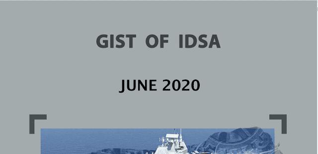 Gist of IDSA June 2020