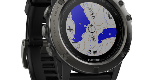 A New Smartwatch From Garmin - The Fenix 5X
