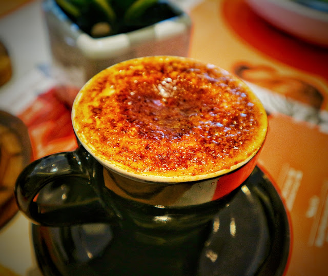 Cappucino Brulee at Fedwell Citywalk