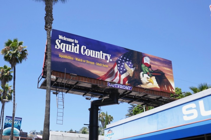Welcome to Squid Country Squidbillies s12 billboard