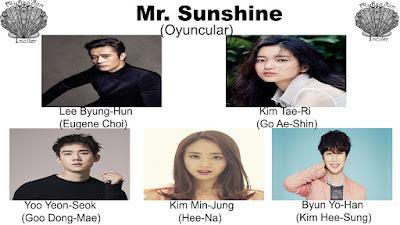 Mr.Sunshine Konusu ve Oyuncuları