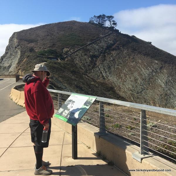 interpretive sign on Devil's Slide Trail in Pacifica, California