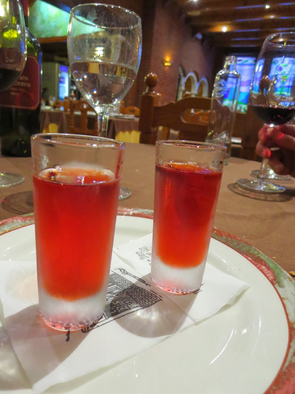 Christmas in Granada - Local liqueur