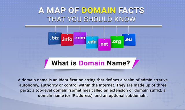 A Map of Domain Facts That You Should Know #infographic