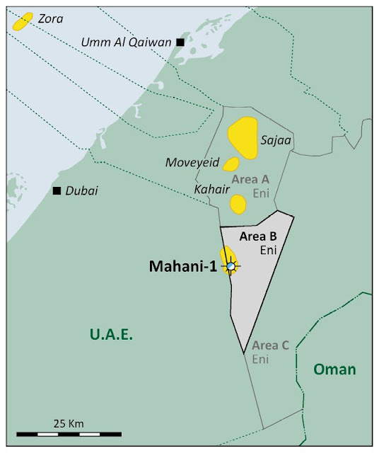 SNOC and Eni Announces Gas Production at the Mahani Gas Field