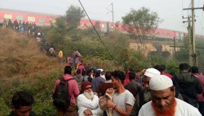 मुंबई-भुवनेश्वर एक्सप्रेस के 8 डिब्बे कटक में पटरी से उतरे, 40 के घायल होने की खबर