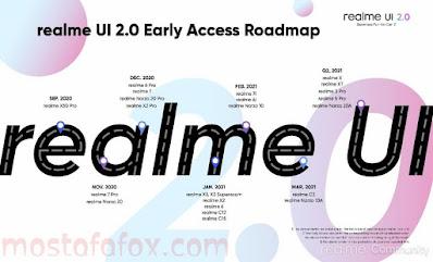 ريلمي تعلن عن موعد إطلاق الواجهة Realme UI 2.0 وتعرّف على الهواتف المؤهلة للتحديث