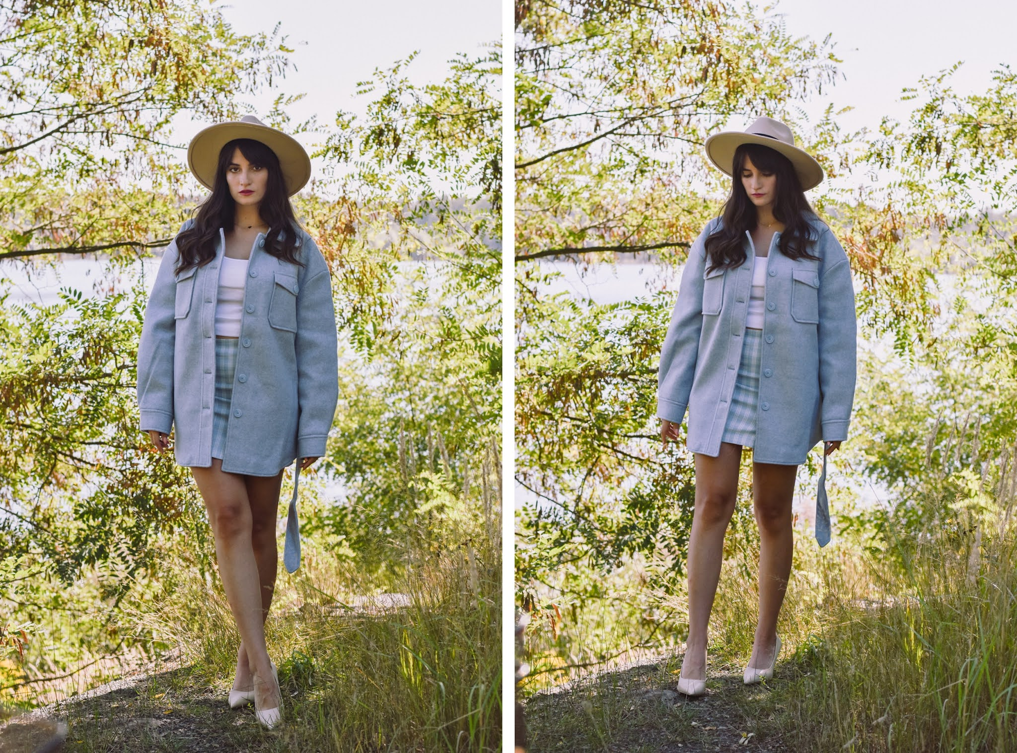 kurtka koszulowa damska jak nosić - pomysł na stylizacje