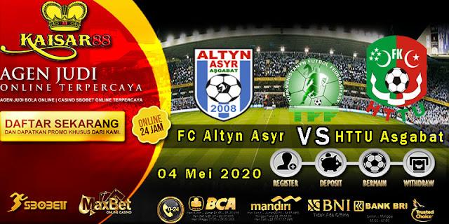Prediksi Bola Terpercaya Liga Turkmenistan FC Altyn Asyr vs HTTU Asgabat 04 Mei 2020