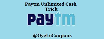 Paytm Hack Cash for New Users