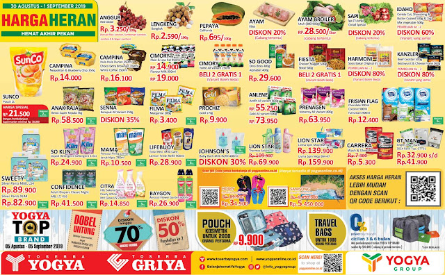 #Yogya - #Promo Katalog Harga Eceran Periode 30 Agustus - 01 Sept 2019