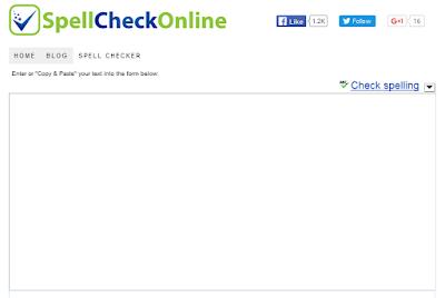 Spell Check Online