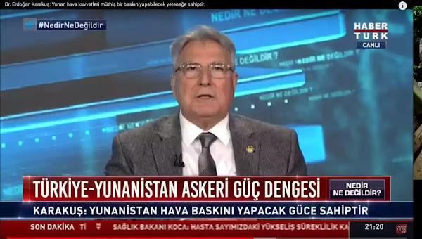 Τούρκος απόστρατος: «Δεν είναι ελληνική λέξη το Αιγαίο – Τουρκικό όνομα το Αγαμέμνων»