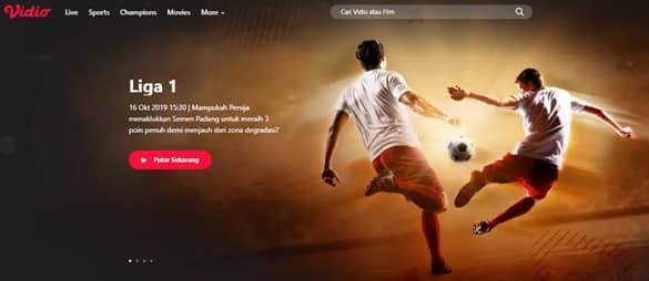 aplikasi live streaming bola terbaik untuk PC