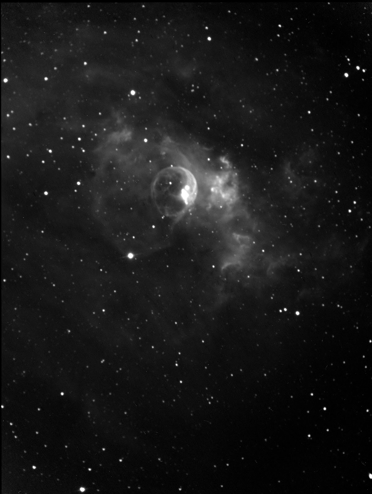 AstroBilly's Solid Angle: NGC 7635 - The Bubble Nebula