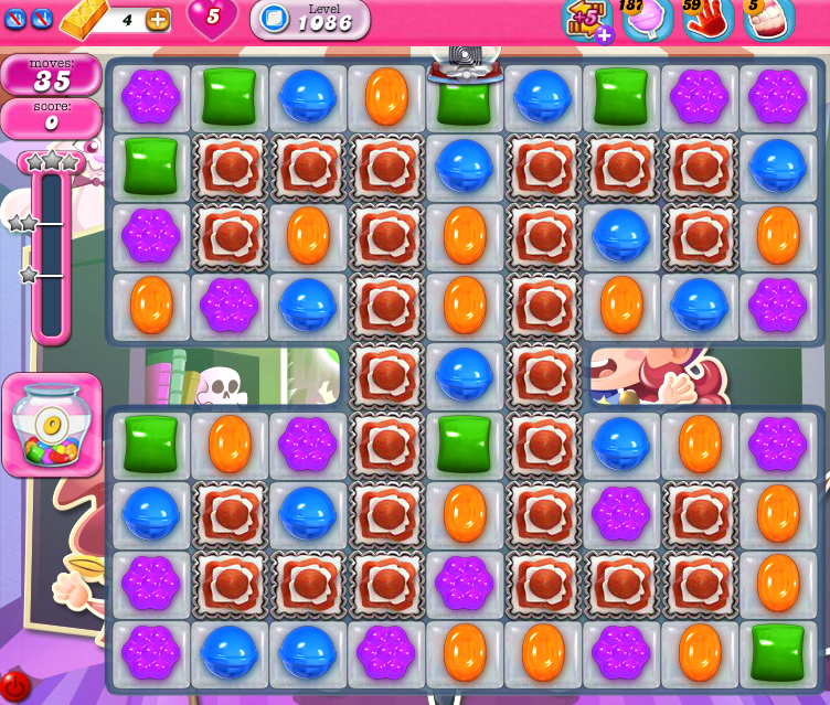 Candy Crush Saga 1086