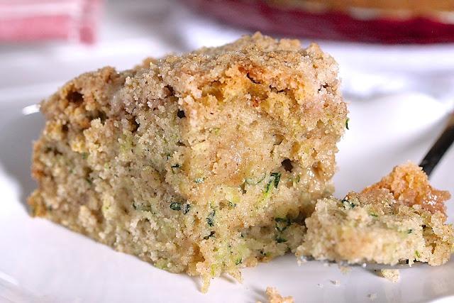 ZUCCHINI CRUMB CAKE