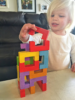 U-Build Basics 12 Piece Building Block Toy