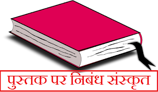 Sanskrit Essay on Book