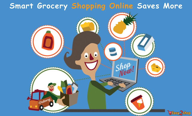 Home delivery food shopping online