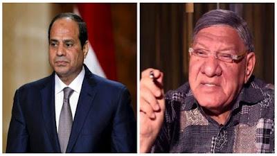 مفيد فوزي  و الرئيس عبدالفتاح السيسي