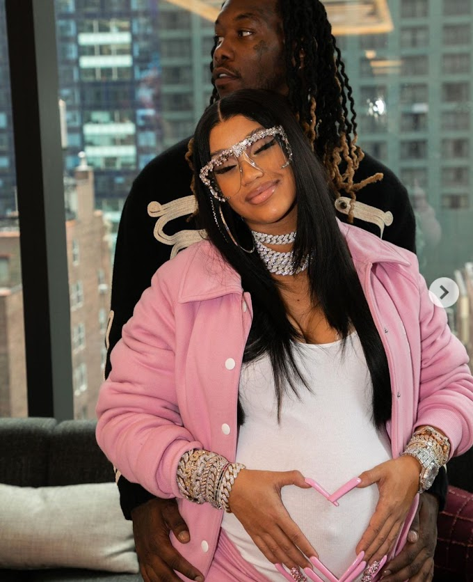 Congratulations As Cardi B And Offset Welcomed A New Baby Boy