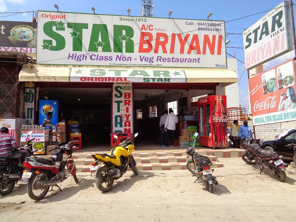 star briyani ambur, ambur, star biryani ambur